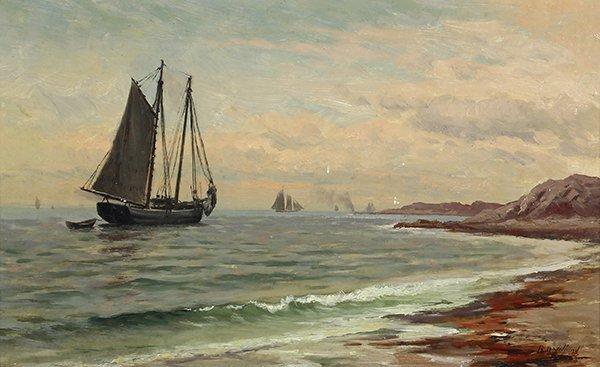 Painting, Raymond Dabb Yelland