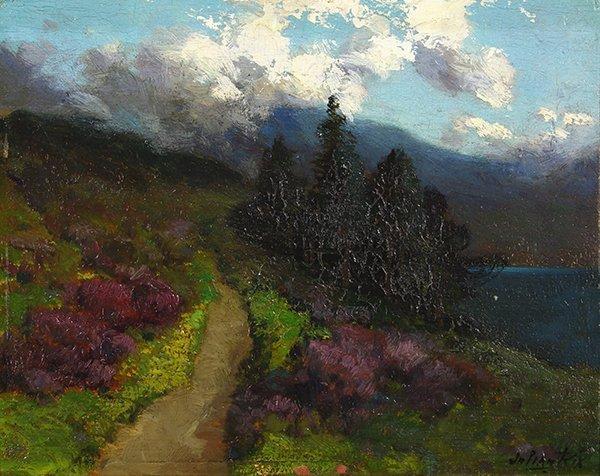 Painting, Julian Rix