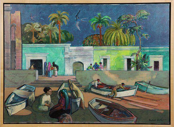 Painting, Millard Sheets