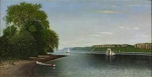 Painting, Alfred Thompson Bricher
