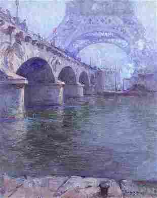 Painting, Emile Albert Gruppe