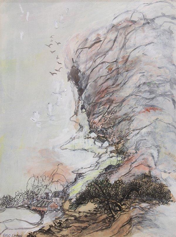 George Chann, painting