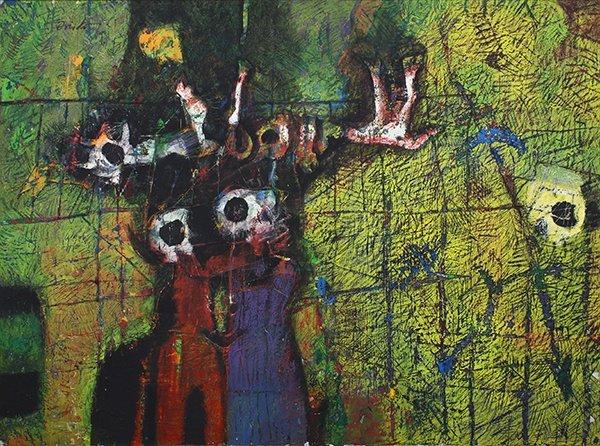 Ramon Oviedo, painting