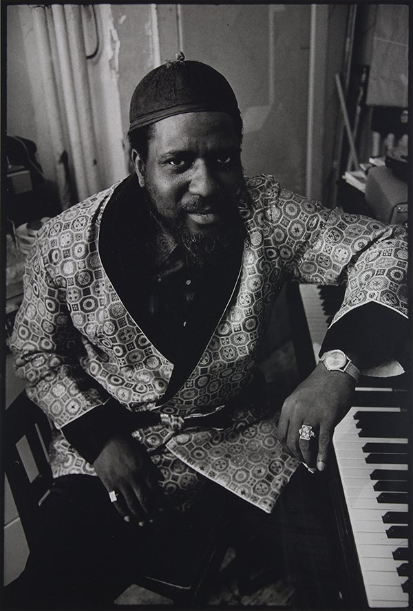 Jim Marshall, Thelonious Monk, at his home