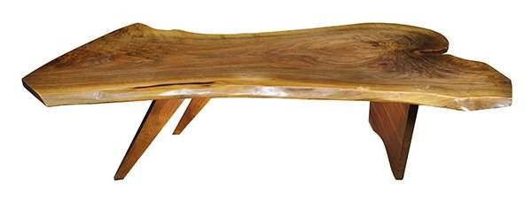 George Nakashima Conoid coffee table circa 1964
