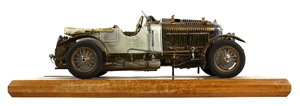 Gerald Wingrove 1:15 scale model of a 1929 4