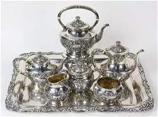 Gorham sterling silver Fleury pattern hot beverage
