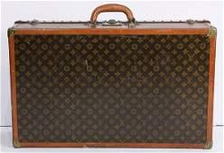 Louis Vuitton hardcase trunk circa 1960 having a