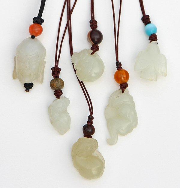 Chinese Jade/Hardstone Toggles
