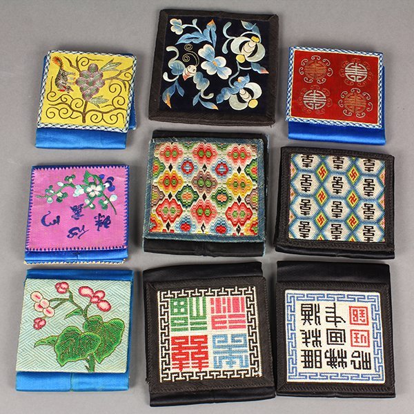 Chinese Embroidered Pouches/Wallets