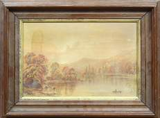 Attributed to James McIntyre painting