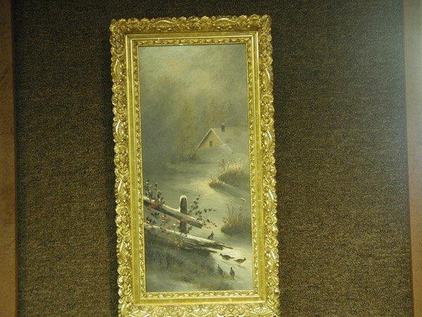 3: Oil/canvas, American 19th-20th century