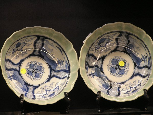 17: Chinese Blue and White Bowls