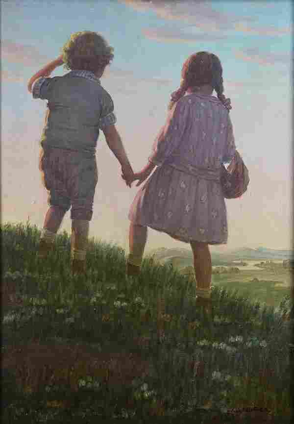 Painting, Edward Dufner