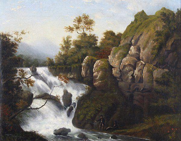 Painting, Hermann Herzog