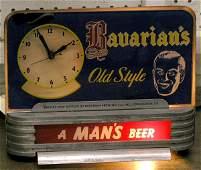 213: Bavarian Beer Advertising Clock