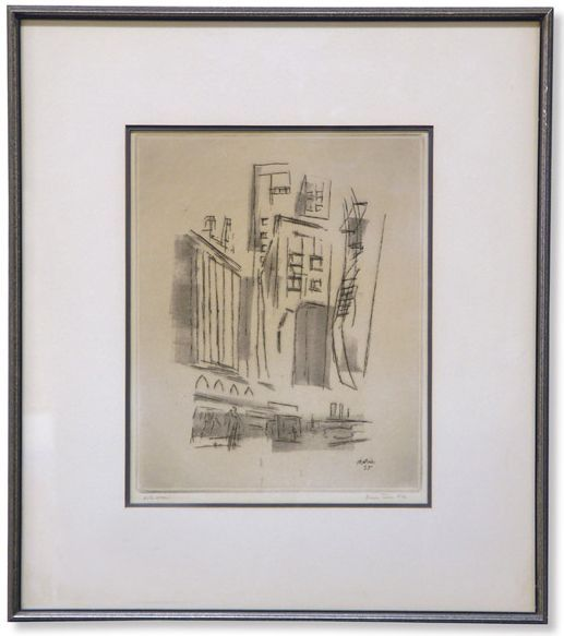 Print Currier Ives California Antique
