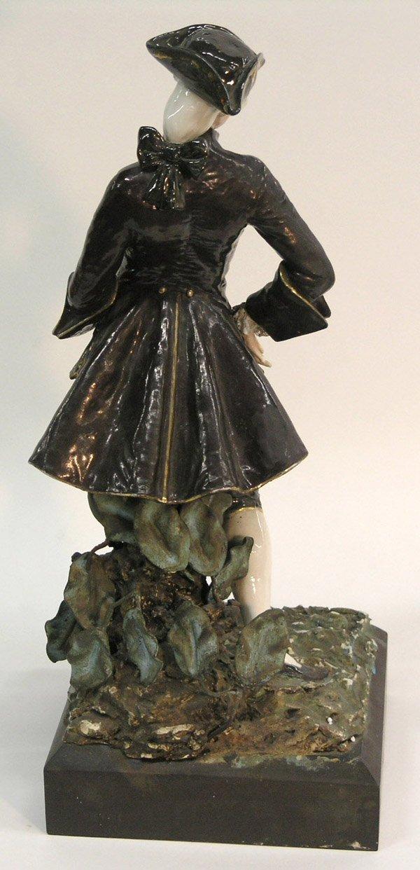 569: 18th Century Porcelain Dandy Figure - 2