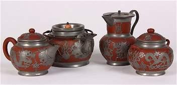 Chinese Zisha Tea Set