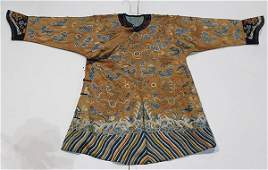 Chinese Embroidered Dragon Robe