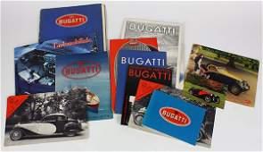 (Lot of 20+) Bugatti automobile ephemera group, circa