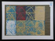 Work on Paper, Stars and Squares