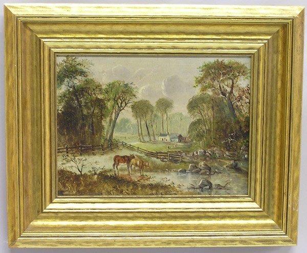 2002: Oil, American, Landscape, primitive