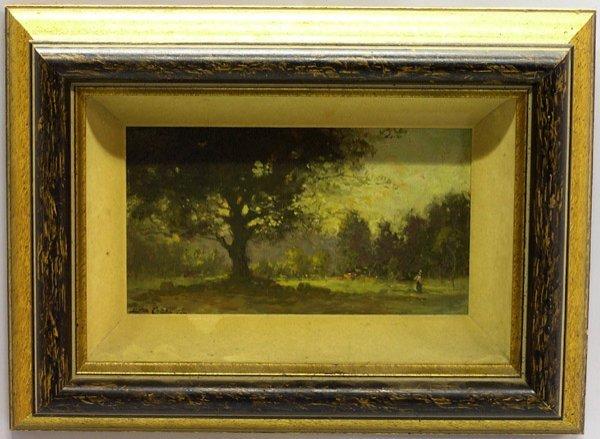 2009: Oil, Lewis Cohen, American landscape