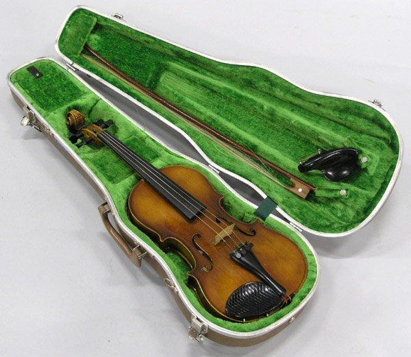 2447: Anton Becker Violin, Germany
