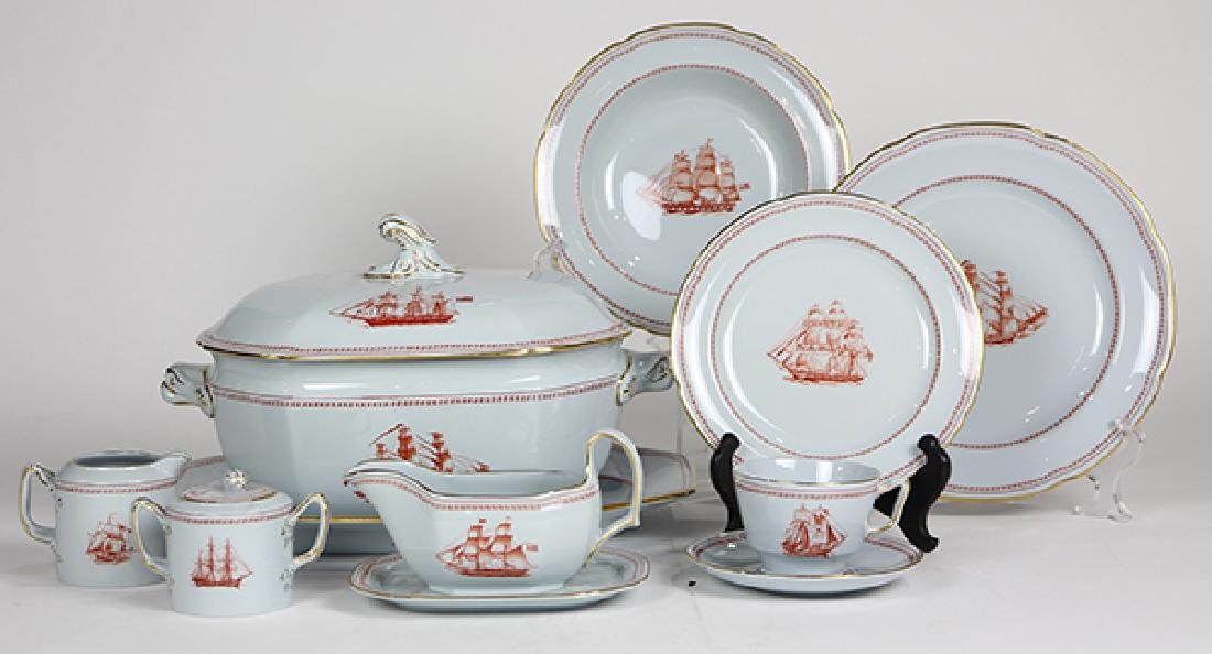(lot of 47) Spode dinner service for eight in the