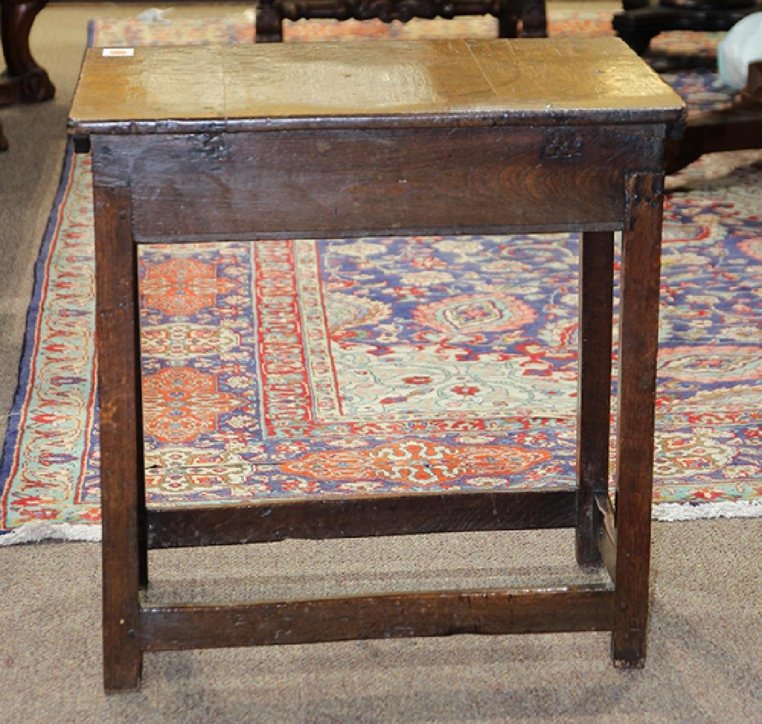 English oak table - 5