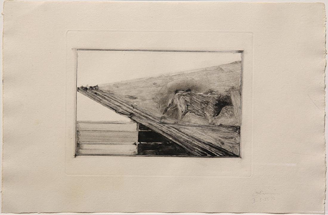 Monotype, Nathan Oliveira, Tauromaquia