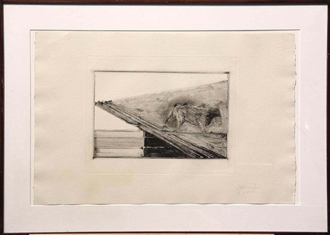 Monotype, Nathan Oliveira, Tauromaquia - 2