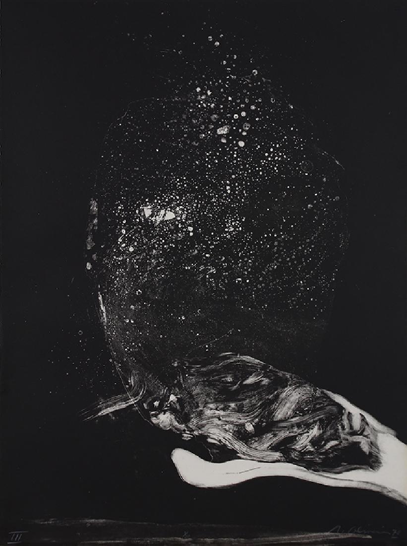 Portfolio, Nathan Oliveira, To Edgar Allen Poe