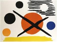 Print, Alexander Calder, La Croix sur le Soleil