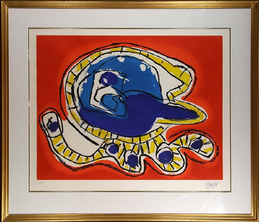 Print, Karel Appel, Octopus - 2