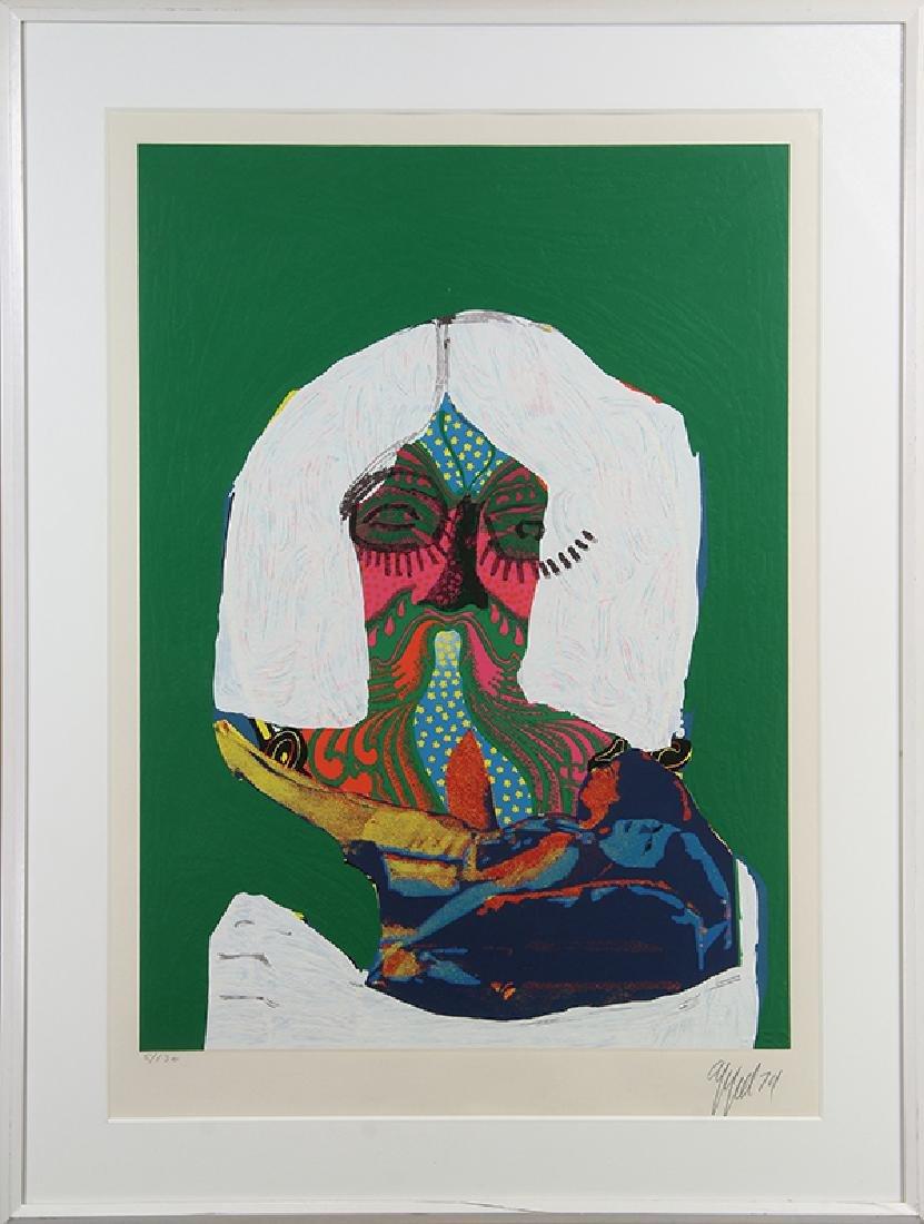 Print, Karel Appel, Sofa Oriental - 2