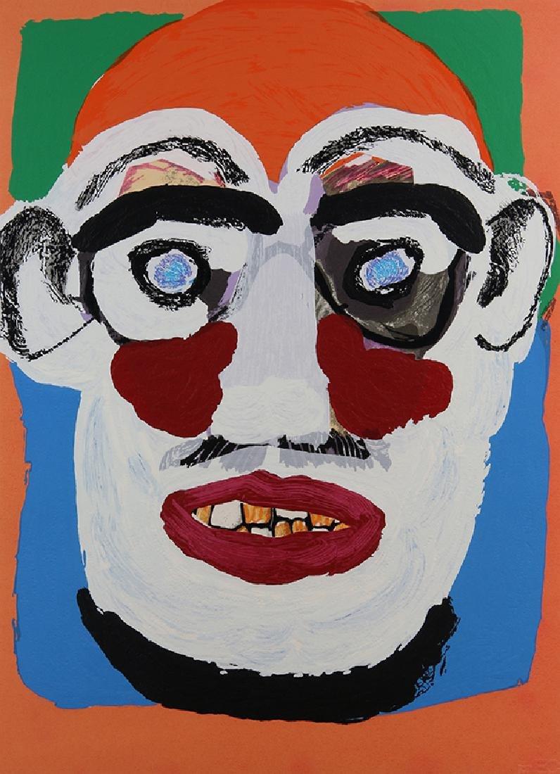 Print, Karel Appel, Face