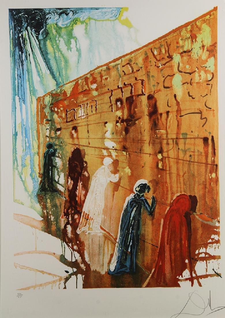 Print, Salvador Dali, Wailing Wall