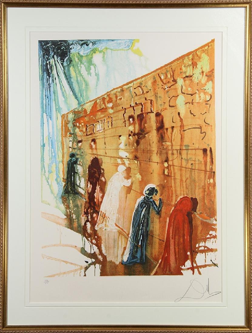 Print, Salvador Dali, Wailing Wall - 2
