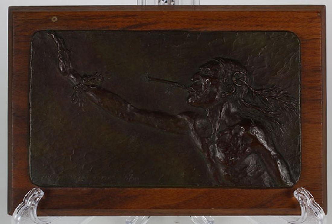 Wall relief, Ernest Berke