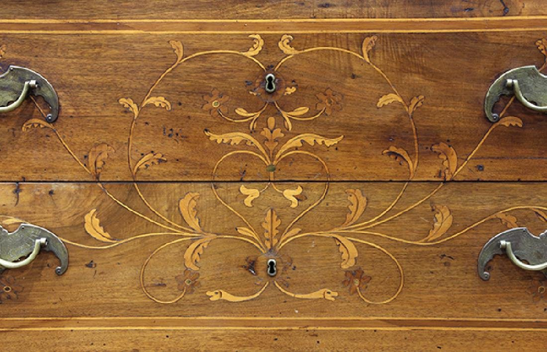 North Italian Neoclassical marquetry commode, late 18th - 4