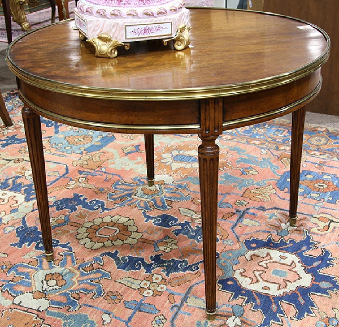 French Regency mahogany games table