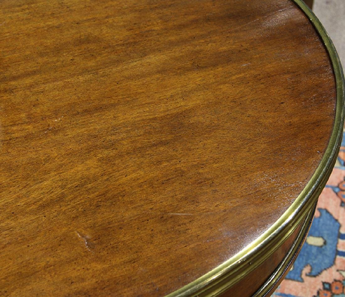 French Regency mahogany games table - 2