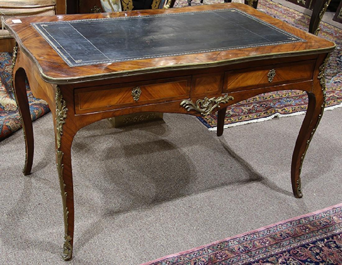 Louis XV style rosewood desk circa 1860