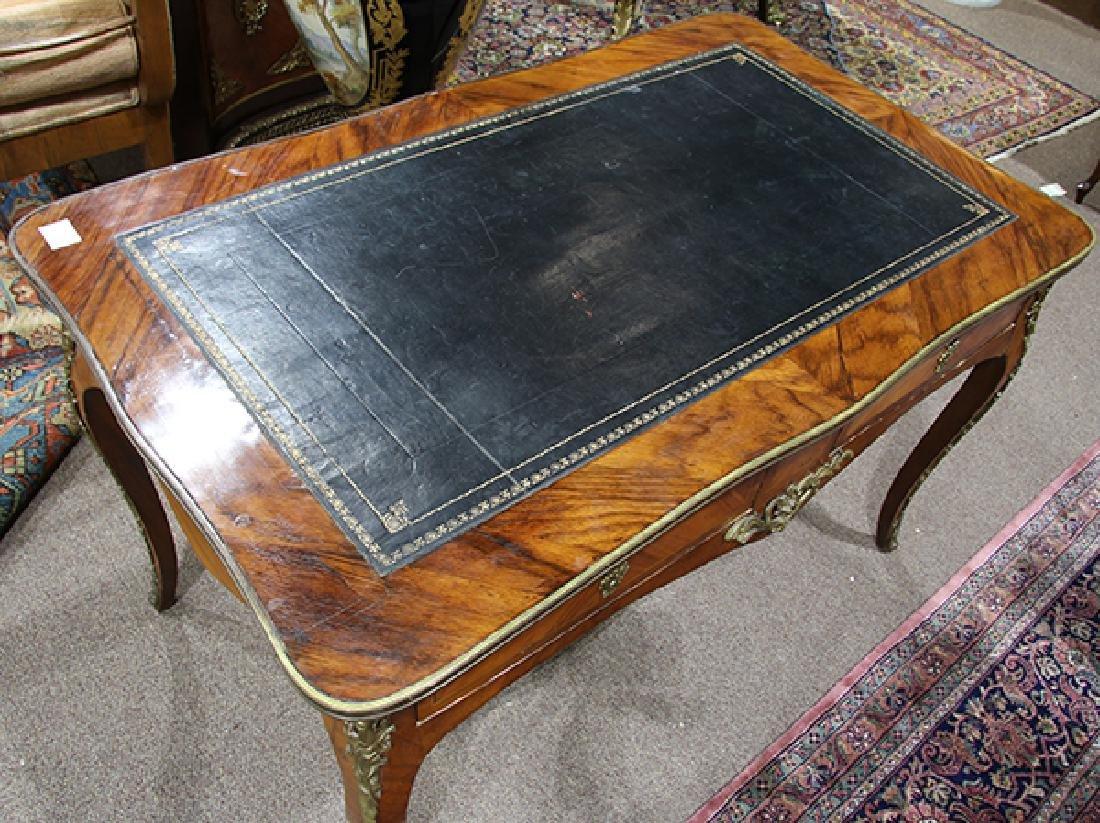Louis XV style rosewood desk circa 1860 - 2