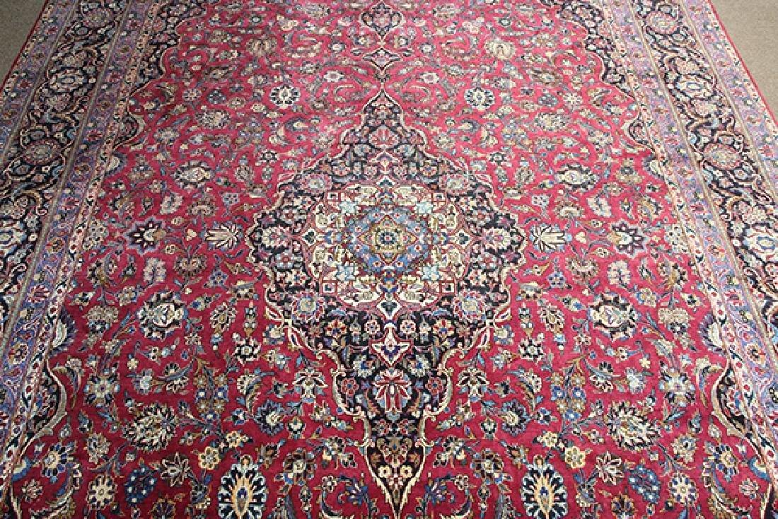 Semi antique Persian Meshed carpet - 2