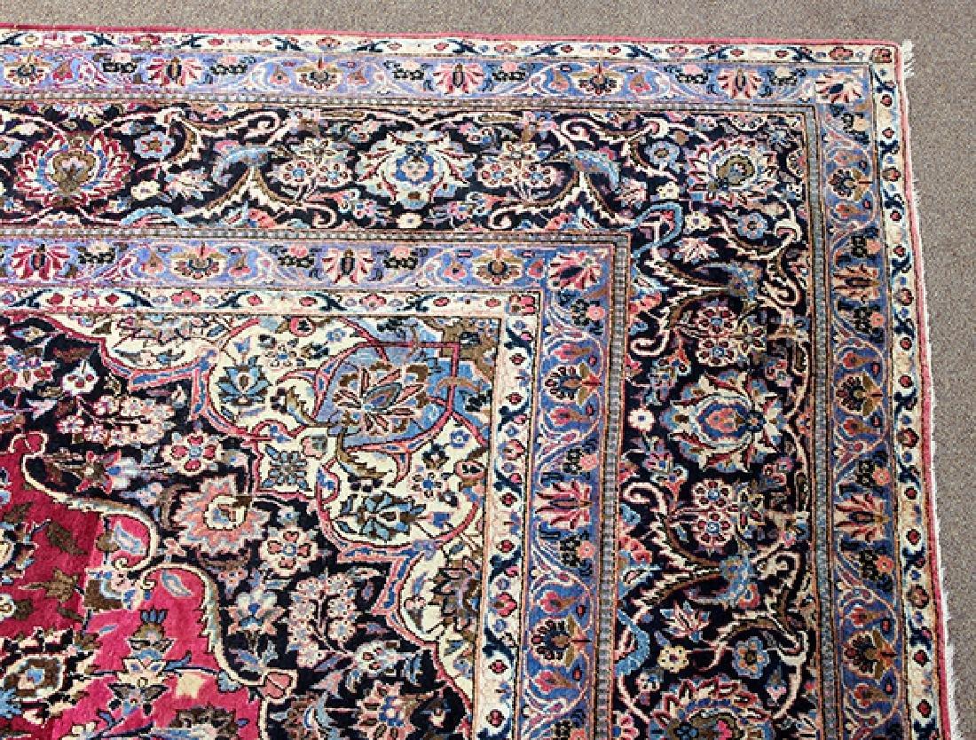 Semi antique Persian Meshed carpet - 3