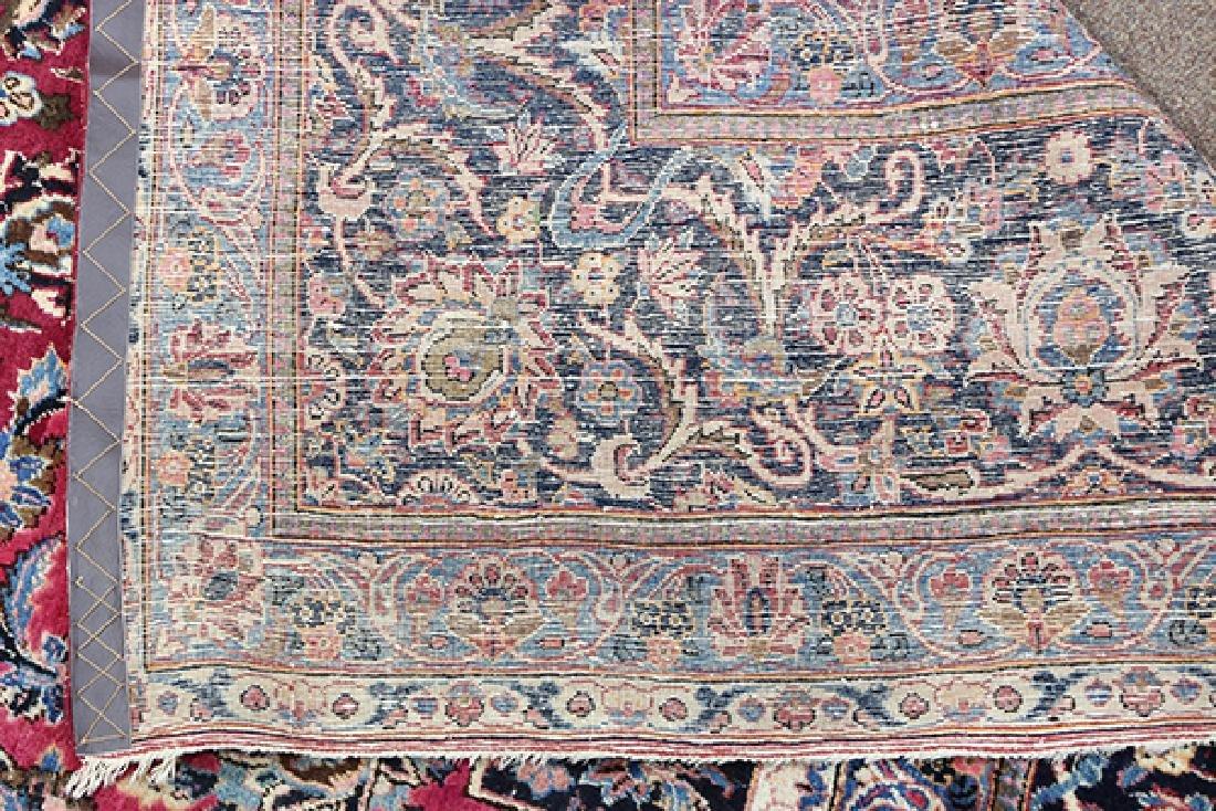 Semi antique Persian Meshed carpet - 4