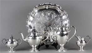 Gorham sterling silver Puritan pattern hot beverage